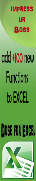 Dose for Excel - +100 Functions