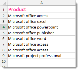 Excel Capitalize Letters