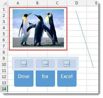 Excel Delete Illustrations and Objects
