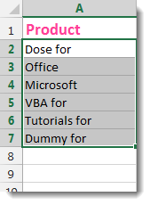 Excel Insert Text Before Or After