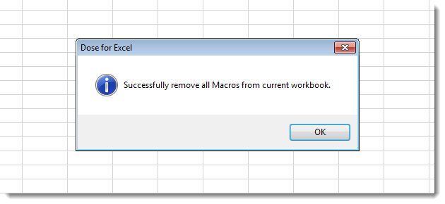 Excel Remove All Macros