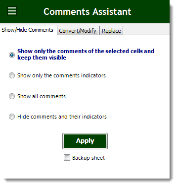 Excel Delete Or Replace Or Show Or Hide Comments